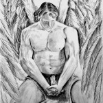 """Guardian Angel"" 12x14 pencil"