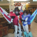 """Starscream and Slipstream Cosplay"""