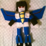 """Thundercracker Doll""  Craft foam/muslin doll"